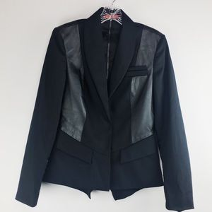 Alice + Olivia Multimedia Blazer